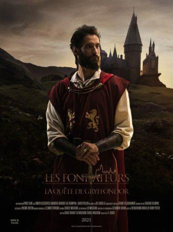 Godric Gryffondor figure sur l'affiche du fanfilm les Fondateurs: la quête de Gryffondor.