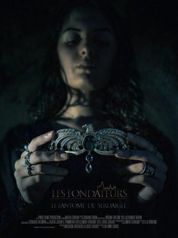 Helena Serdaigle figure sur cette affiche du fanfilm les Fondateurs: le fantôme de Serdaigle.