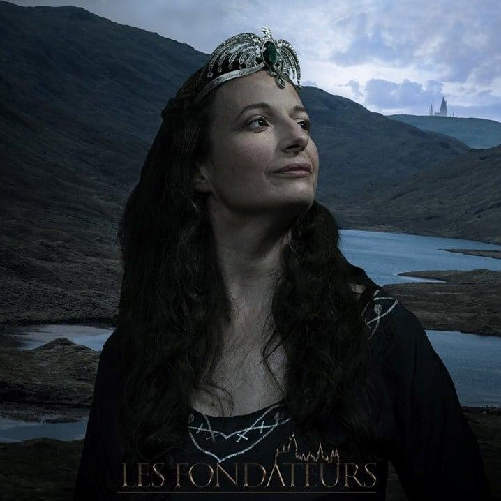 Rowena Serdaigle figure sur l'affiche du fanfilm les Fondateurs : le fantôme de Serdaigle.