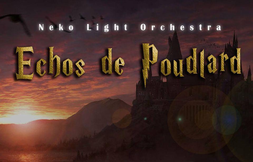 Logo du concert échos de Poudlard.