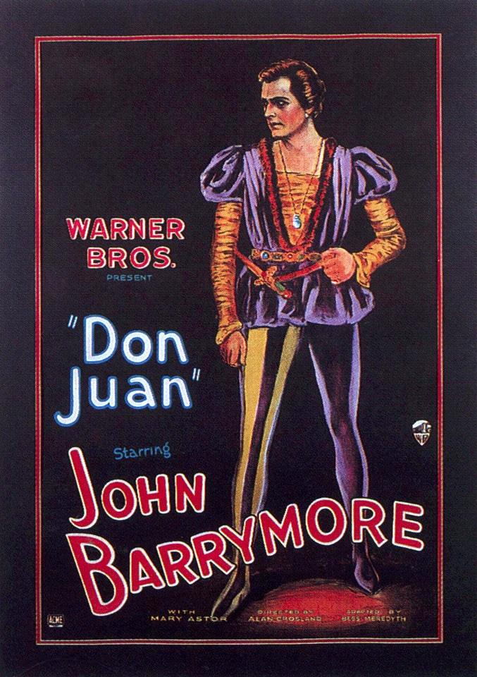 Affiche du film Don Juan, sorti en 1926.
