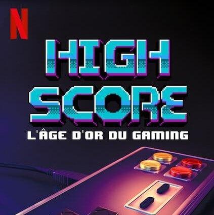 Affiche de la série documentaire High Score.