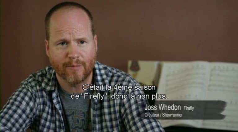 Joss Whedon, pendant l'interview du documentaire Showrunners.