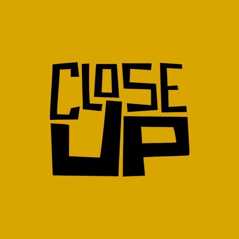 Le logo de la chaîne YouTube Close Up qui propose d'étudier les différents types de plan au cinéma.