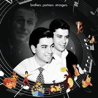 L'affiche du documentaire the Boys, sur lequel on voit Robert et Richard Sherman