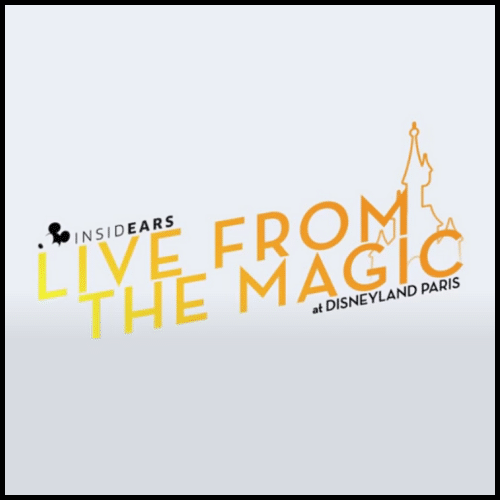Affiche Live from the magic at Disneyland Paris
