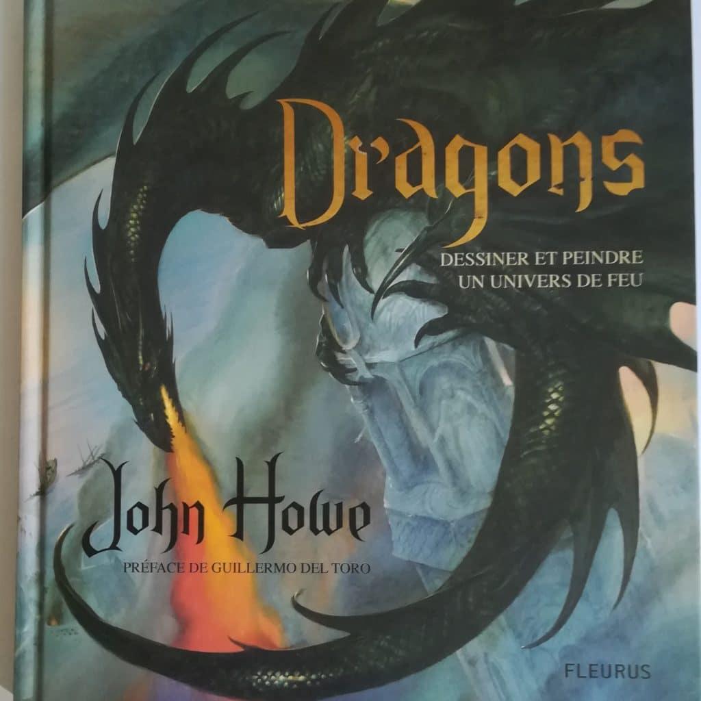 Première de couverture du livre Dragons de John Howe