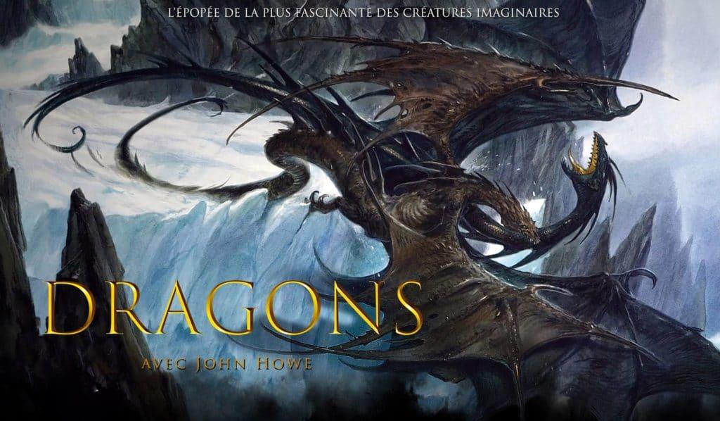 Illustration d'un dragon de John Howe