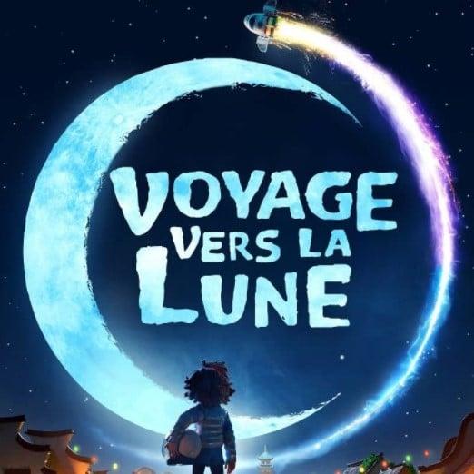 Affiche de Voyage vers la Lune
