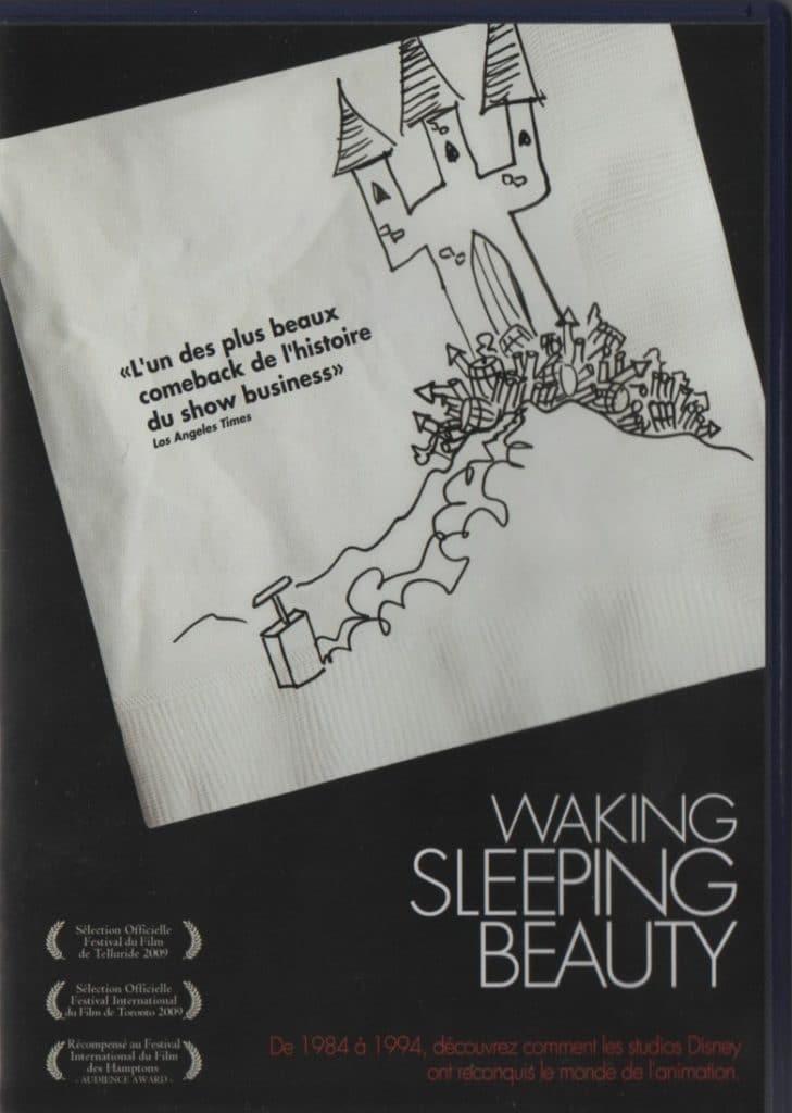 Recto du DVD de Waking Sleeping Beauty